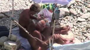 beach hidden cam